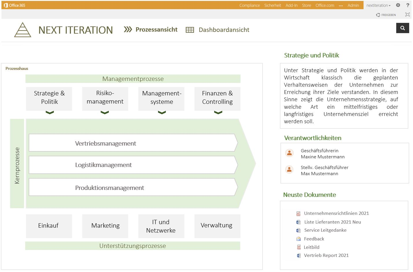 Wissensmanagement Portal